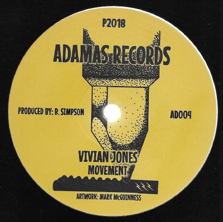 Vivian Jones - Movement / Dub 1 / Dub 2 (Adamas Records) 12""